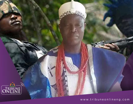 Nigerian traditional monarch kidnapped