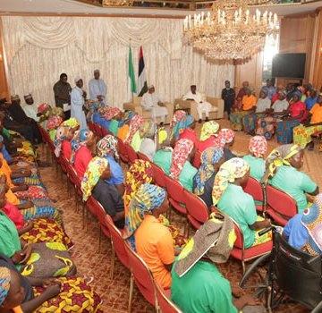 Chibok girls: Group says reunion of girls, a milestone