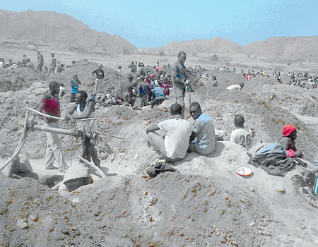 Licensed local miners, Pains of years of tin mining in Plateau, illegal mining in Edo