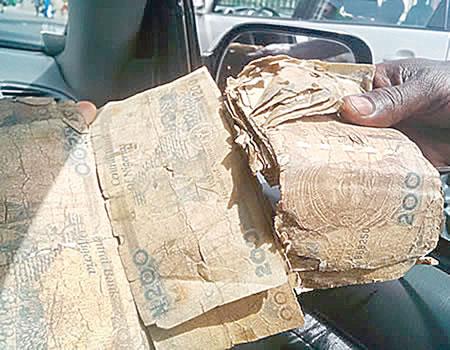 dirty naira notes