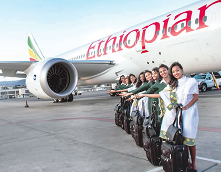 Ethiopian, Ethiopian Airlines to restart