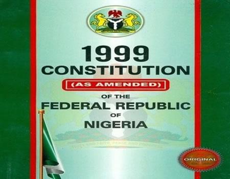 constitution cjn nigeria, constitution amendment