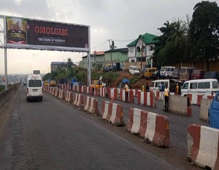 Lagos-Ibadan Expressway ready, temporary diversion, punch, Lagos-Ibadan Expressway