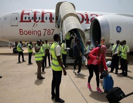 International flights, Ethiopian Airlines, China, coronavirus