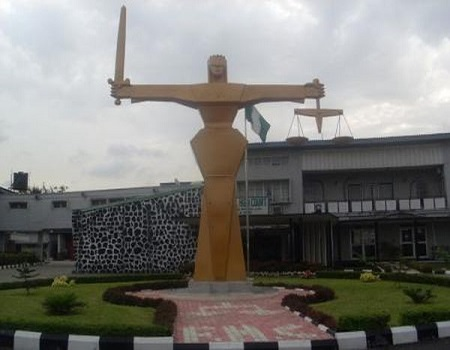 Court bank, Three remanded, 10 Marginal Oil Fields, Court in Kogi, national assets, Court remands man, BPE, Man remanded, Court remands man, Court sentences two robbers, Oyo Judiciary, Shiites members, Court remands three, MCSN Makurdi, Court remands two, Appeal Court President, 15-year-old girl, mechanic, theft, lagos, cut grass, death by hanging, unlawful arrest