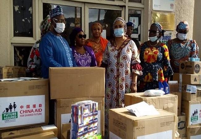 Aisha Buhari, Kogi state, relief items