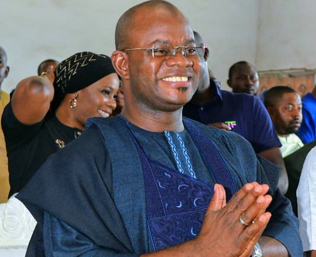 GYahaya Bello's campaign billboards, ov Bello, Kogi reduced domestic debts