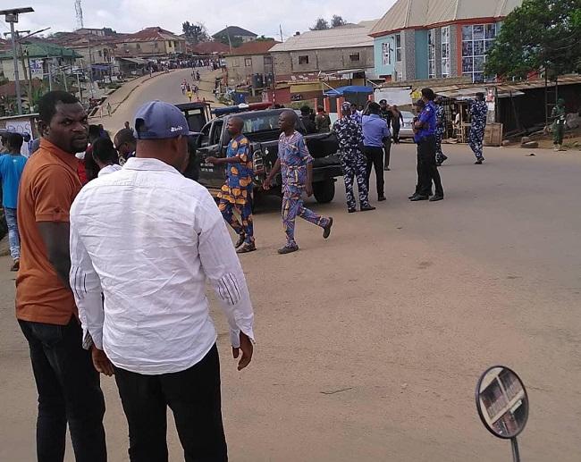 Akure polling unit, akure collation centre