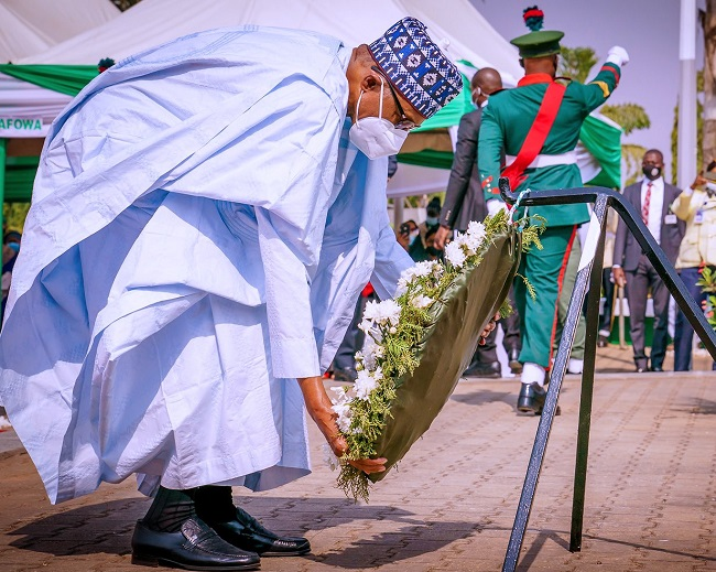 Armed Forces Day, Buhari
