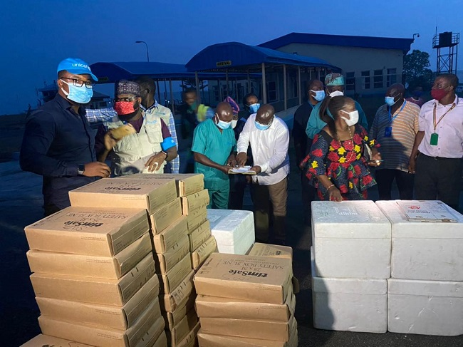 osun receives vaccine