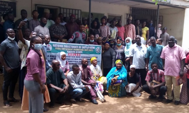 NDE trains 100 youths