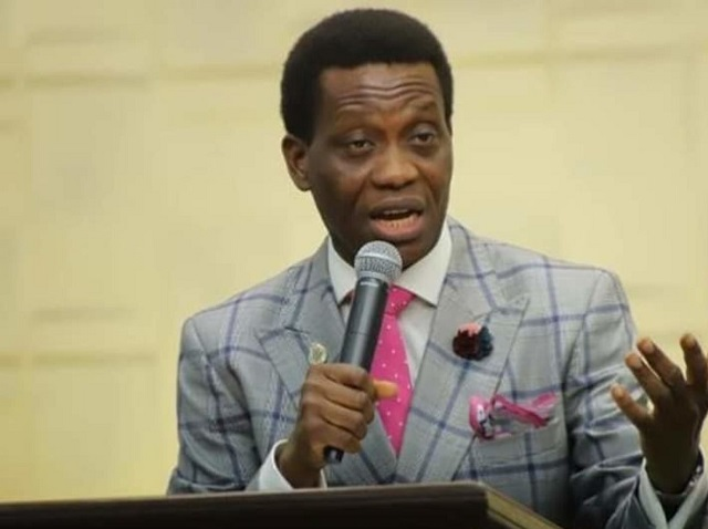 Pastor Dare Adeboye for burial