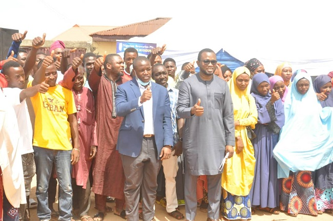 Brewery empowers 120 youths