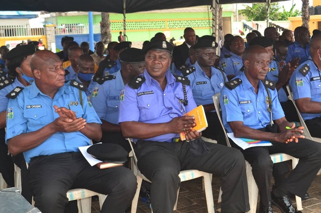 Police commander charges cops