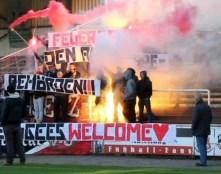 Utečenci, vitajte! Altona 93, Hamburg, Nemecko