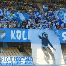Spoločná láska – futbal. Spoločná nenávisť – rasizmus Xerez CD, Xerez, Španielsko