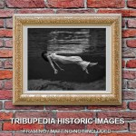 Vintage 1947 Lady in the Water Photograph