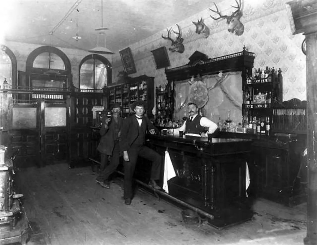 Photo of Toll Gate Saloon - Black Hawk, Colorado - 1897
