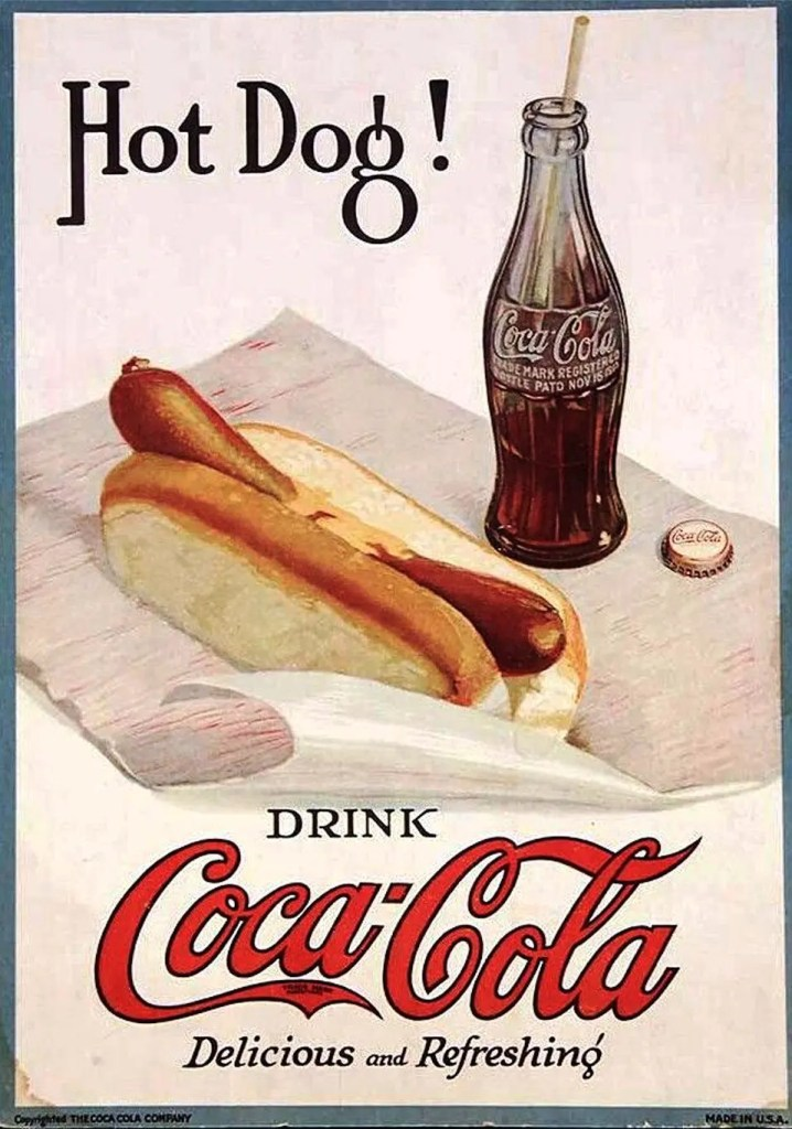 1919 Coca-Cola Advertisement - Delicious and Refreshing