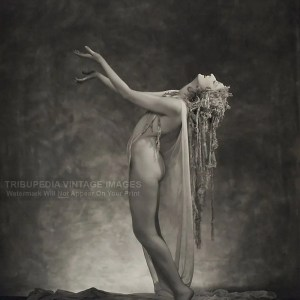 1923 Doris Humphrey Nude Modern Dance Photo