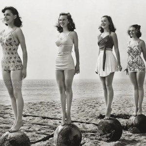 1940s Swimwear Competition Photo