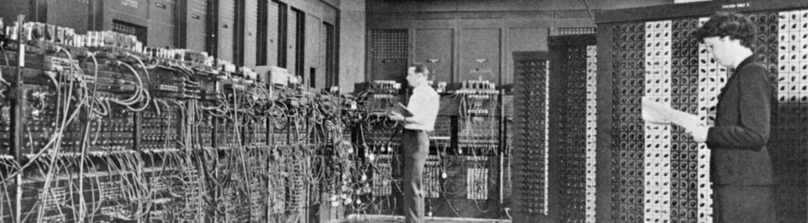 A photo of the Eniac switchboard – Tribus Creative – Social Media Automation