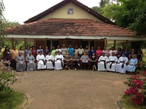 These leaders were trained and immediately bega working with at-risk children