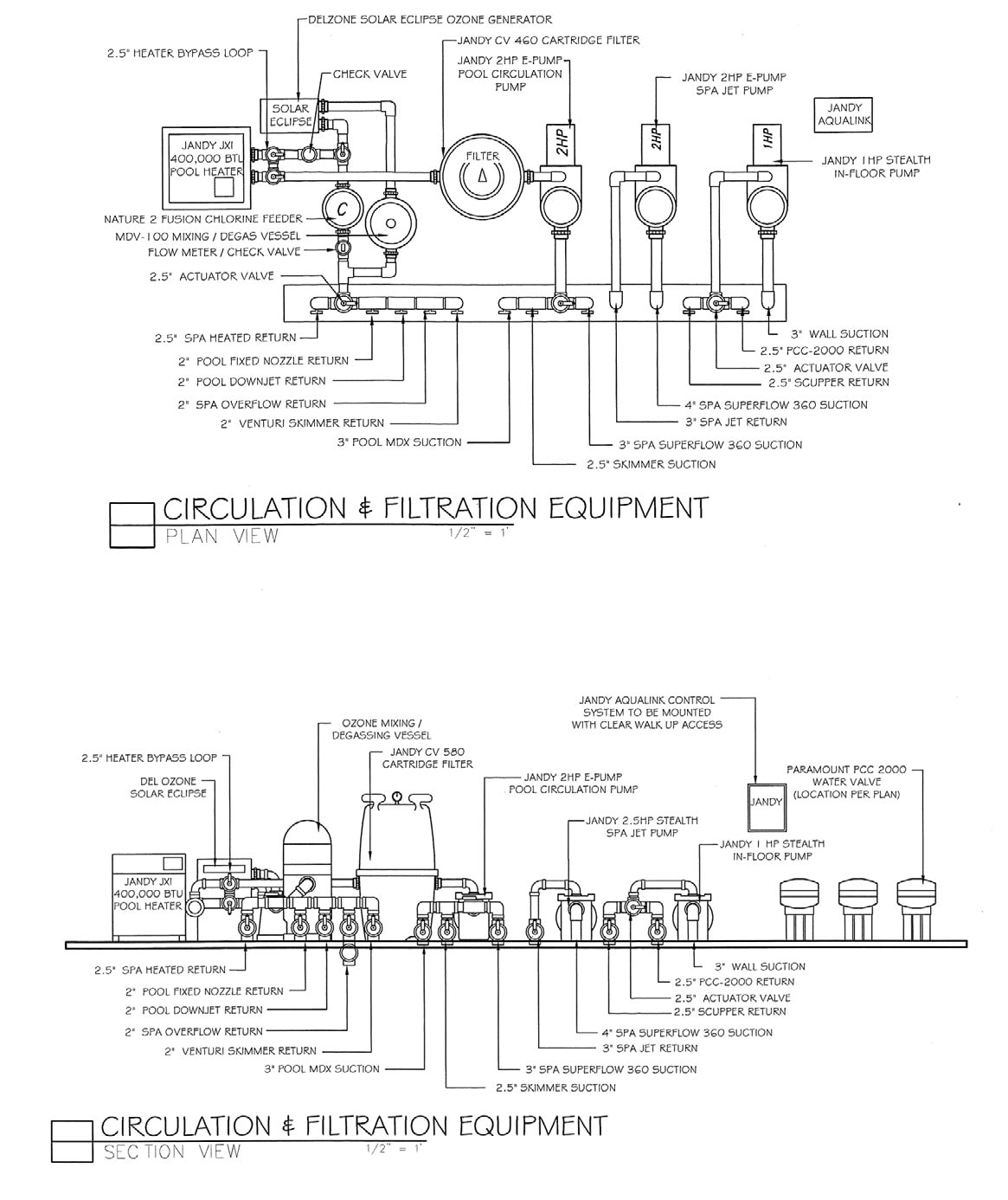 hight resolution of taking a little more time to plan out the equipment placement beyond a typical pool equipment plumbing diagram can save time on installation and minimize