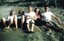 Fun with friends - Doug far right (~1950)