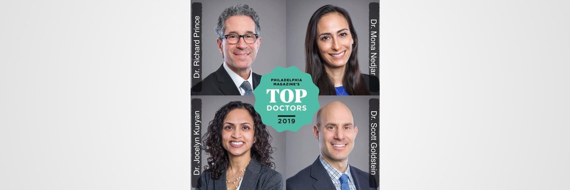 Philadelphia Magazine's Top Doctors™ 2019 in Ophthalmology - Tri-Century Eye Care