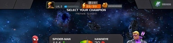 MARVEL Contest of Champions : Triche, Hack et Cheat