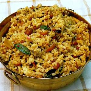 Puliyogare Rice