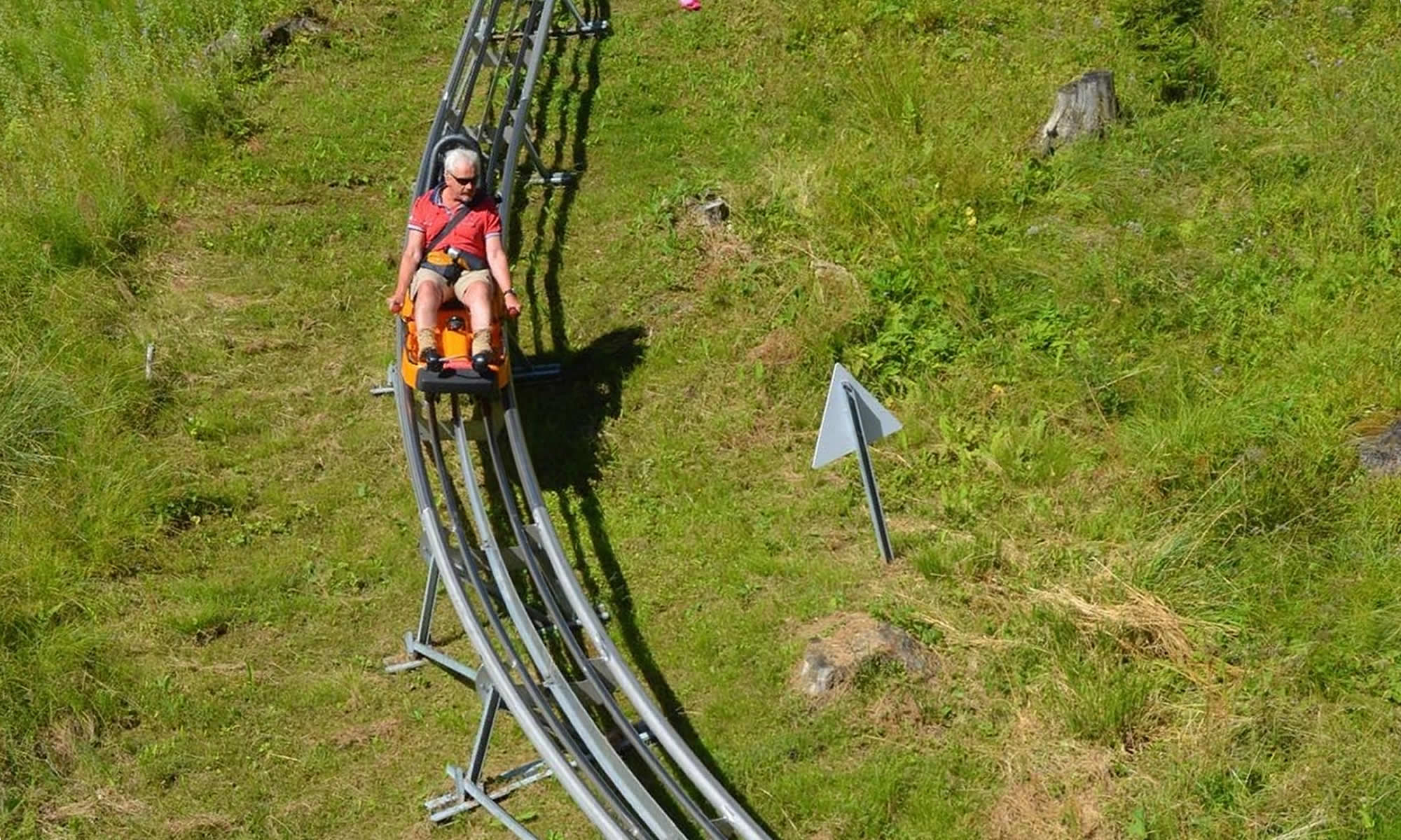 blue egg chair office red curvy exhilaration: riding the alpine coaster in oberammergau, germany – travels with tricia