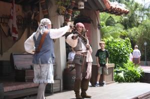 Jack Sparrow at Walt Disney World