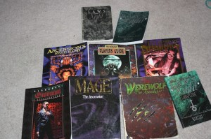 White Wolf Role Playing Game Books