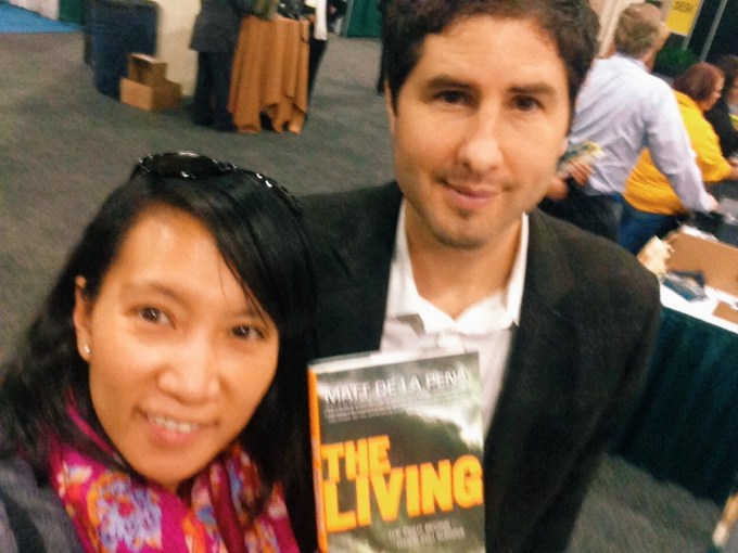 Matt de la Pena, author of The Living