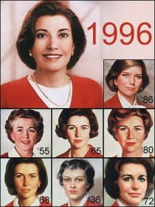 The many faces of Betty Crocker