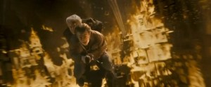 Harry saves Malfoy