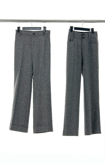 female trousers on a hanger