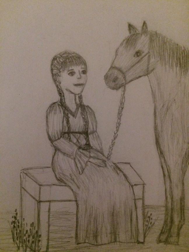 Tabitha Lynn - Brandi drawing