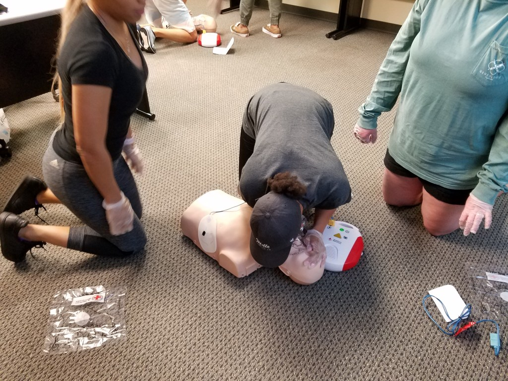 Adult and Pediatric First Aid, CPR, AED (In-Person)