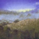 Mist on the Far Field (29w x 41h cms)
