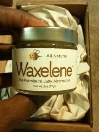 Waxelene jar