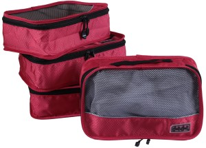 dot&dot small packing cubes red
