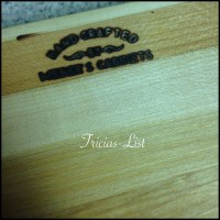 Weber Square Cutting Board Giveaway –we have a WINNER !!!