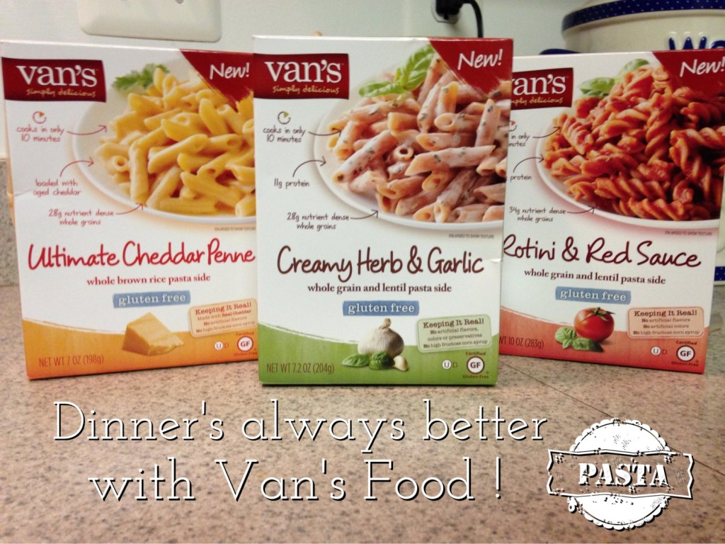 Dinner's A Snap … With Van's Foods