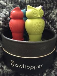 OwlTopper bottle stoppers (5)