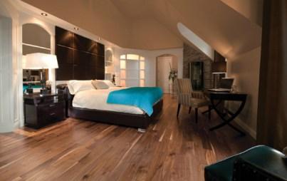 bedroom-floor hardwood flooring