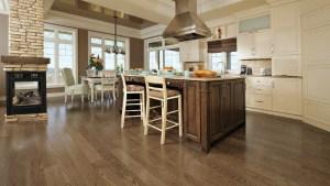 kitchen-floor hardwood flooring