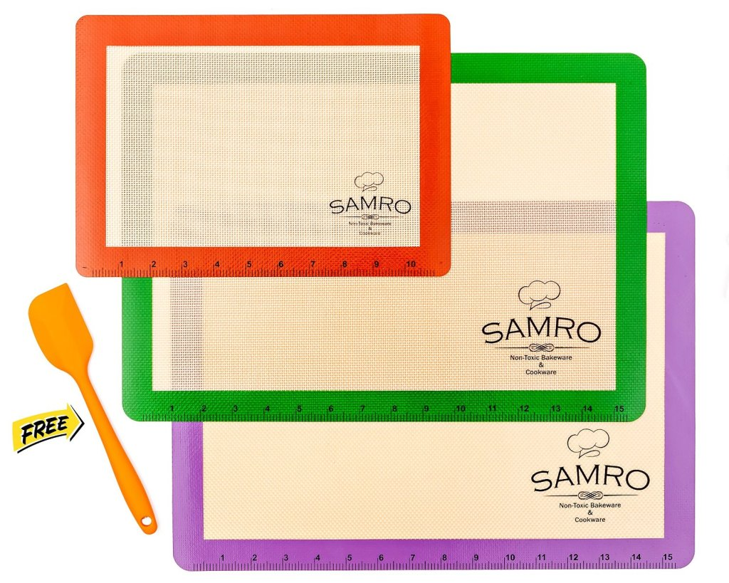 Samro Silicone Baking Mat Set 3pk – Review